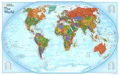 World Explorer Map