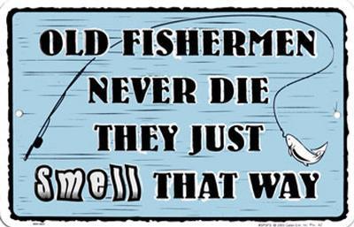 Old Fisherman Never Die