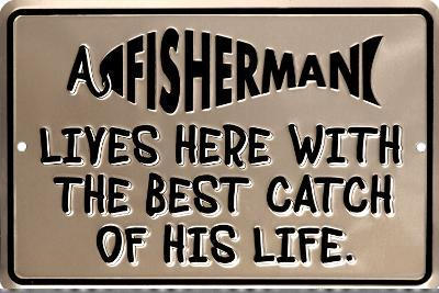 A Fisherman Lives Here With The Best Catch Of His Life