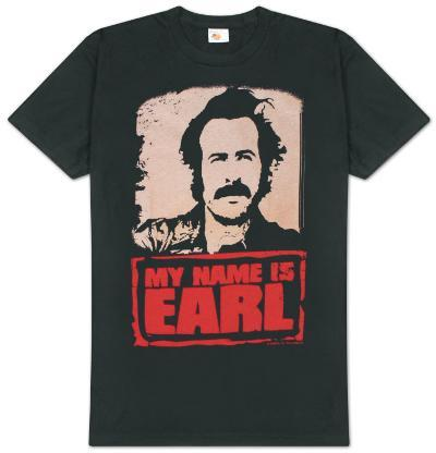 My Name is Earl - Earl with Logo
