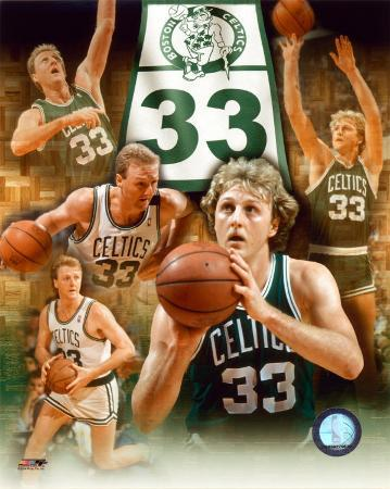 Larry Bird - Legends Of The Game Composite - ©Photofile