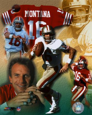 Joe Montana - Legends of the Game Composite - ©Photofile