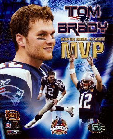 Tom Brady - Super Bowl XXXVIII MVP Champions Collection (Limited Edition) ©Photofile