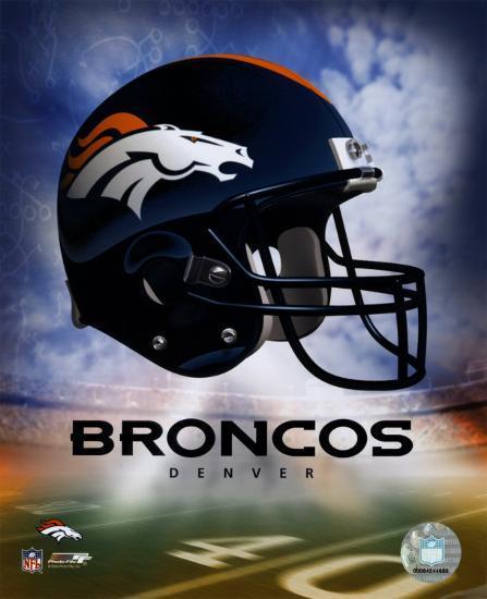 Denver Broncos Helmet Logo 169 Photofile Photo At Allposters Com