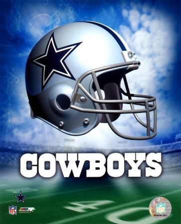 Dallas Cowboys Helmet Logo ©Photofile