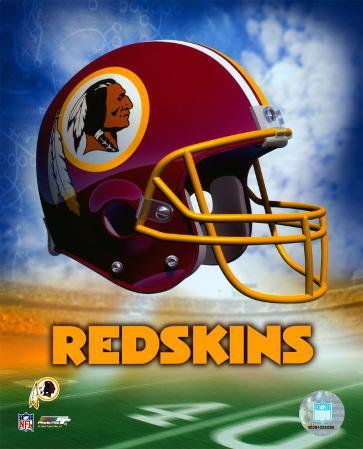 Washington Redskins Helmet Logo ©Photofile