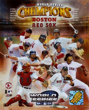 Boston Red Sox 2004 World Series Champions Composite