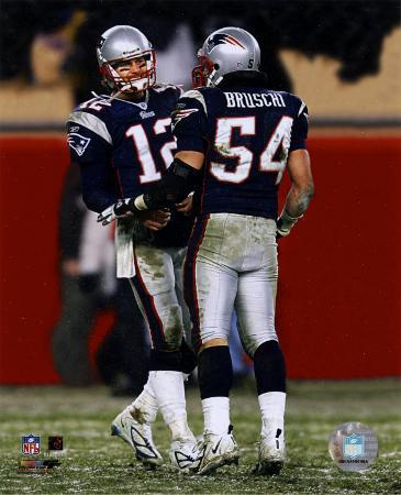 Tom Brady & Tedy Bruschi - 2004-2005 Patriots AFC Division Playoff Game