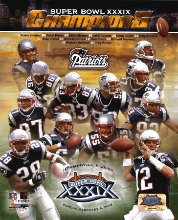 Patriots Super Bowl XXXIX Champions Composite