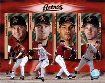 "2005  Astros ""BIG 4"" /  PITCHERS"