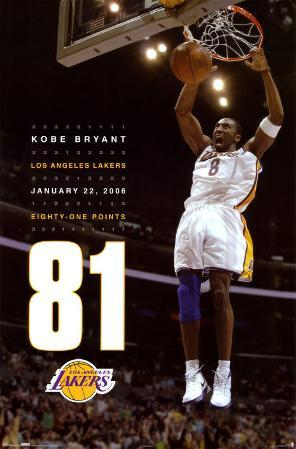 Kobe Bryant - 81 Points