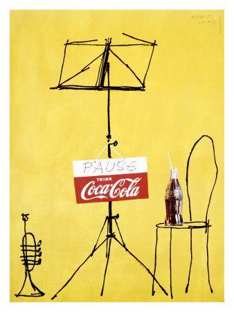 Coca-Cola Swiss Pop Art, c.1962