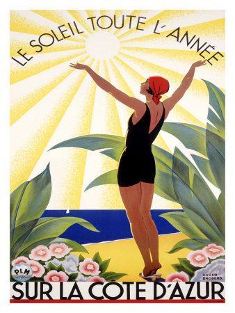 Cote d'Azur, Le Soleil Toute l'Annee