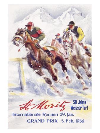 Horse Race, St. Moritz