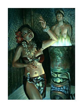 Waikiki Wally's Taboo Hula Girl