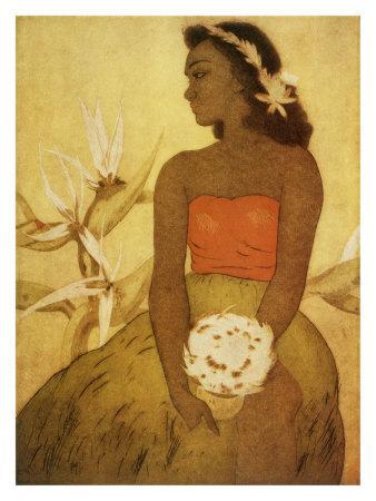 Hawaii, Wahine Hula Girl