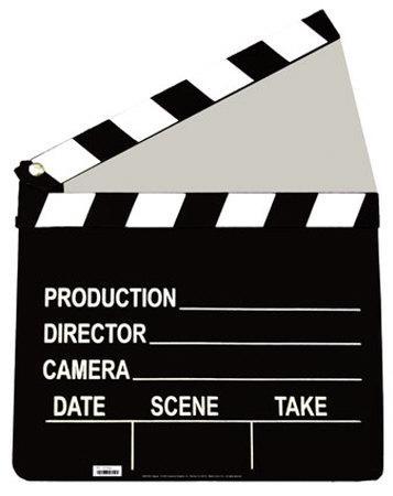 Film Clapper Standup