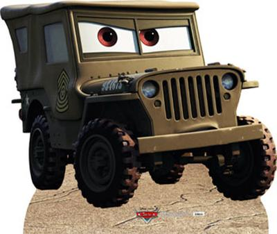 Jeep - Disney/Pixar Cars Movie