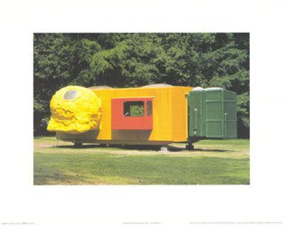 Mobile Home for Kroller Muller, c.1995