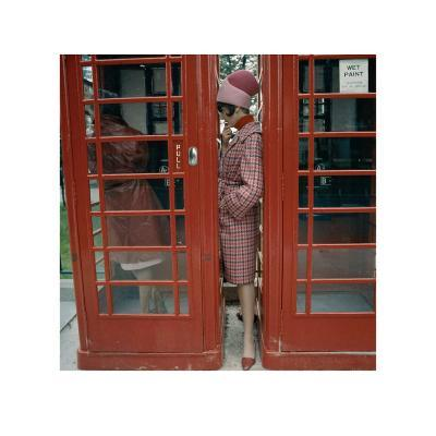 Phone Box, London, 1963