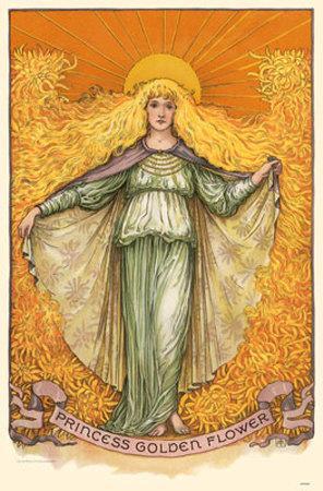 Princess Golden Flowers