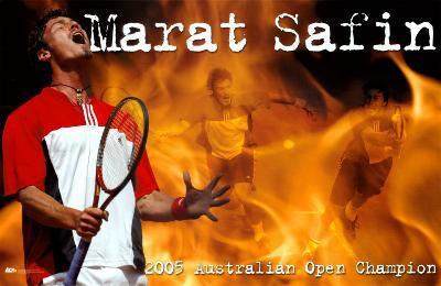 Marat Safin Tennis Sports Poster