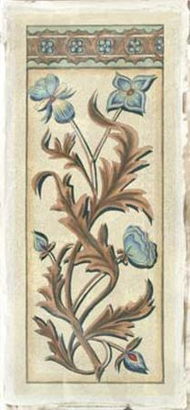 Italianate Panel in Blue II