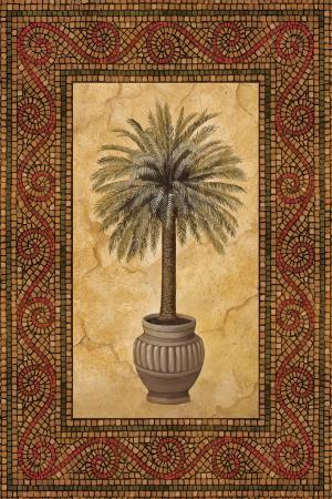 Palm Mosaic II