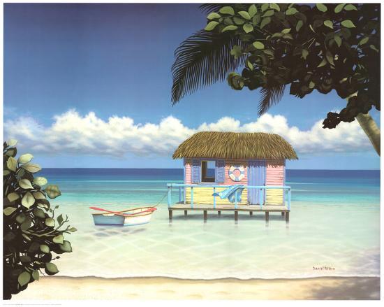 Island Hut Prints By Daniel Pollera At Allposters Com
