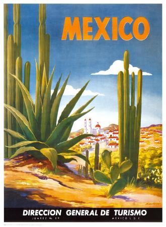 Cacti, Mexico