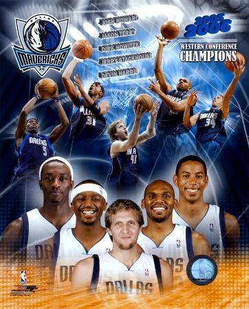 2005-2006 Dallas Mavericks - Western Conference Champs