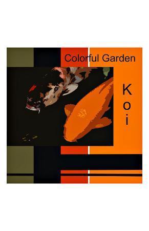 Colorful Garden Koi