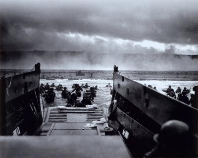 The Morning of June 6, 1944 (D-Day) at Omaha Beach