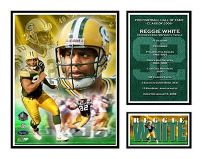 Reggie White - NFL Hall Of Fame