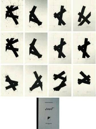 Zwart - Portfolio de 12 Estampes