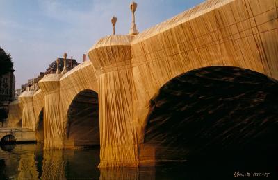 Pont Neuf Wrapped VIII, c.1985