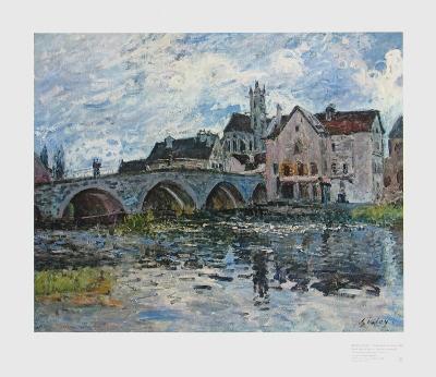 The Bridge of Moret, 1887