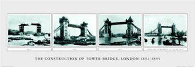 The Construction of Tower Bridge