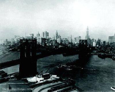 The Brooklyn Bridge, 1932