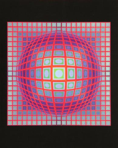 Vega 201  1968 Prints By Victor Vasarely At Allposters Com