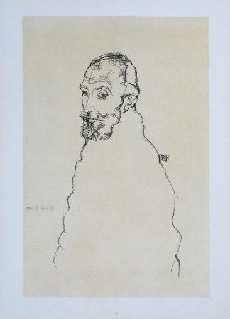 Portrait of Franz Hauer, 1914