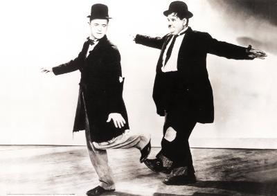 Laurel and Hardy in Danza