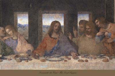 The Last Supper, 1498 (post-restoration) (detail)