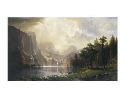 Among the Sierra Nevada, California, 1868