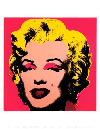 Marilyn Monroe, 1967 (hot pink)