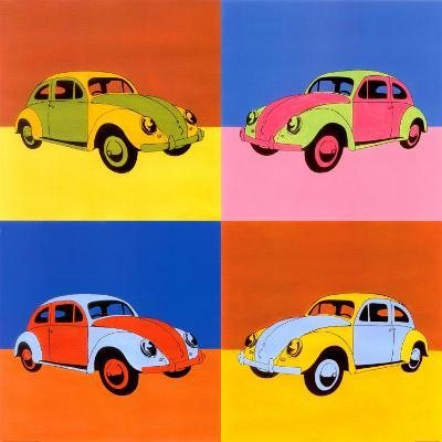 Four Volkswagon Bugs