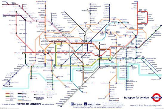 London Underground Map Photo At Allposters Com