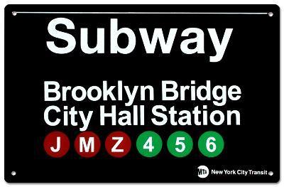Subway Brooklyn Bridge- City Hall Station