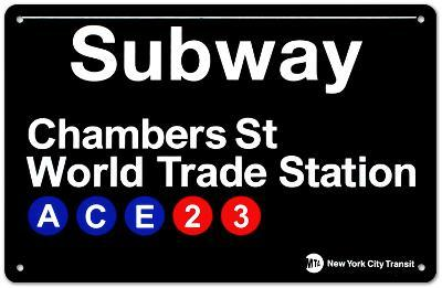 Subway Chambers Street- World Trade Station