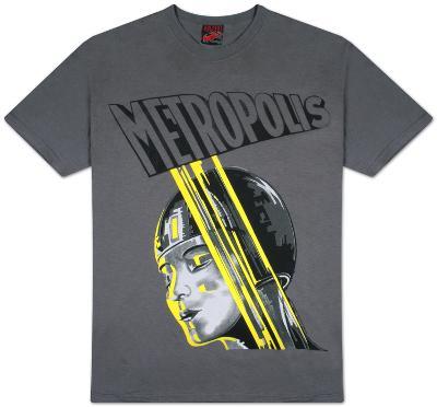 Metropolis - Yellow Stripe